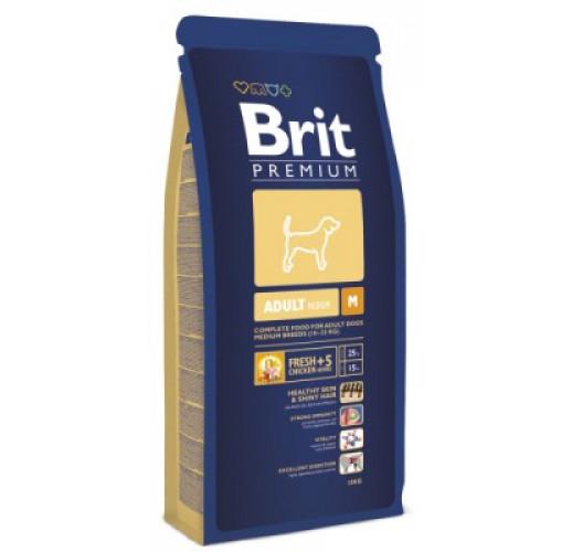 Brit Premium Adult M д/собак сред.пород 3кг