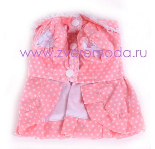 Розовое в горошек