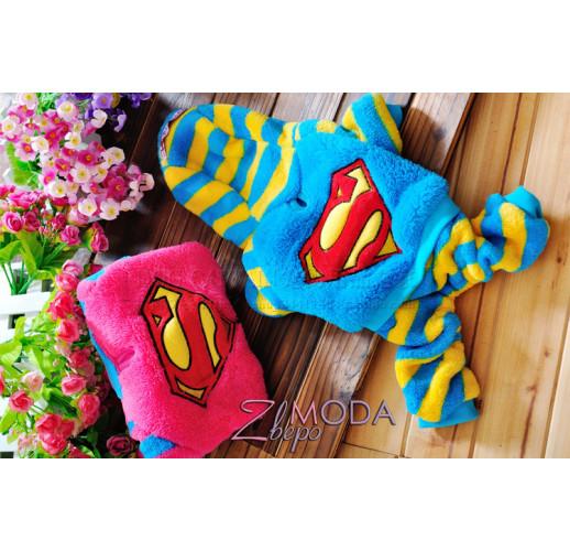 Super Man голубой