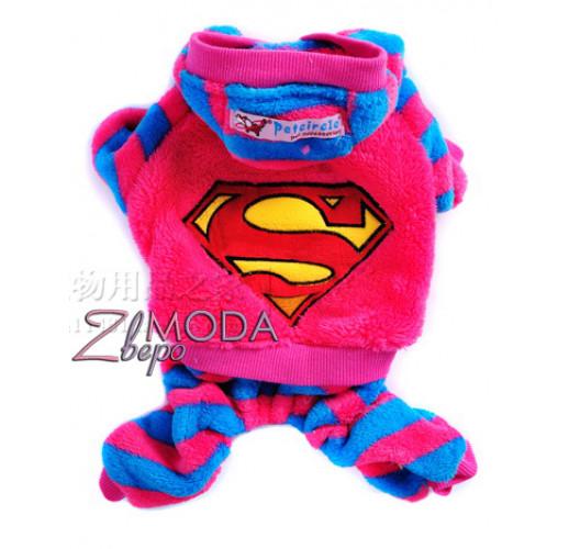Super Man розовый